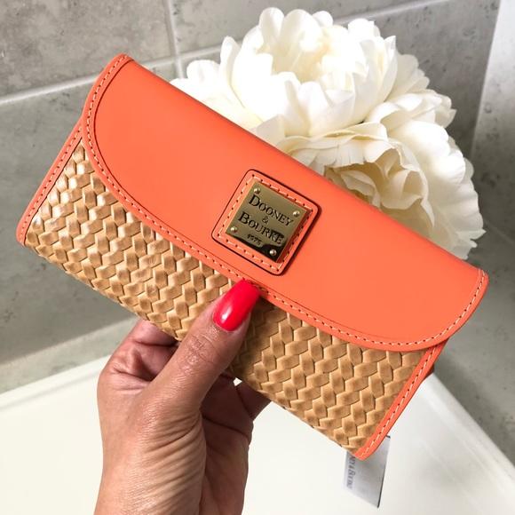Dooney & Bourke Handbags - NEW!!  Dooney & Bourke Beacon Woven Continental
